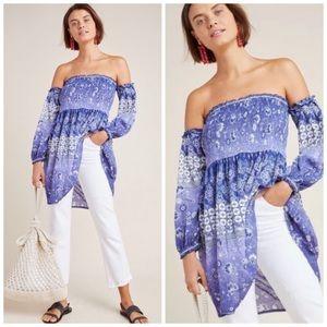 Anthropologie RAGA Tunic Off The Shoulder Dress M